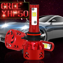 New 60W 9600LM COB LED Headlight Conversion Kit Car Beam Bulb Driving Lamp DC 9-32V  6000K White Light LED Driving Front 2019