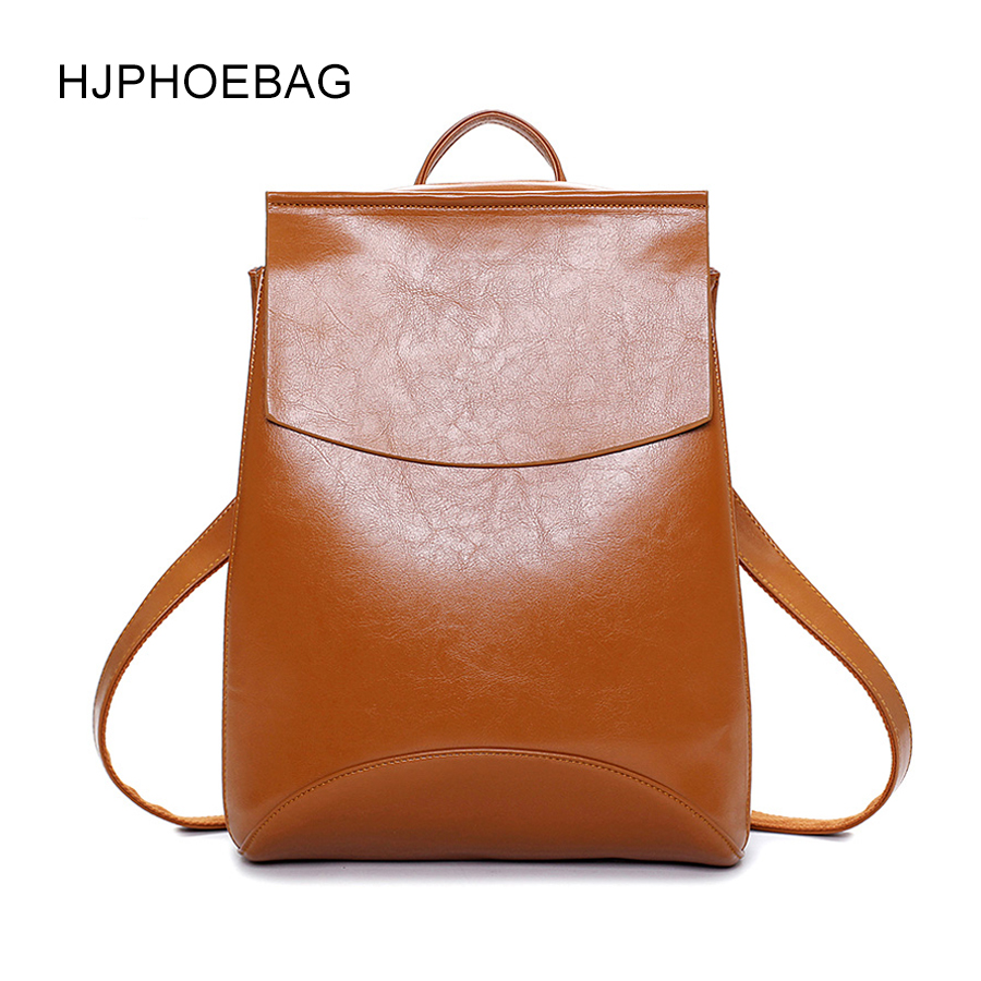 2bb09e359b86 Fashion 2018 Women Backpack High Quality PU Leather Backpacks for Teenage Girls  Female School Shoulder Bag