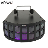 Fury LED Stage Effect Beam Light Double Butterfly Effect Light Linear Lumiere For Disco Clubs DJ 360 Degree Movement