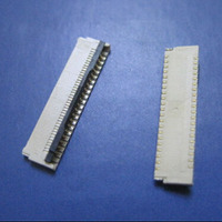 Rear Flip Cover Cell Phone Cable Sockets Imported 0.3 Spacing Dual Rows 31 Pin Front Insert Rear Press Type