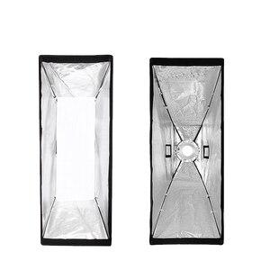 """Image 3 - Godox 14 """"× 63"""" 35 × 160 センチメートルソフトボックス Bowens マウントストリップ蜂の巣ハニカムグリッド用写真 Strobe スタジオフラッシュライト"""
