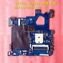 For SAMSUNG NP300V4A NP300V5A Laptop font b motherboard b font BA41 01680A 100 Tested