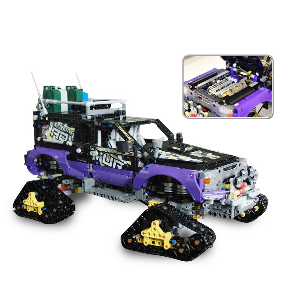 Compatible Legoe Technic Series 42069 2050pcs Ultimate Extreme Adventure Car Model building block toys for children Lepine 20057 2050pcs 2in1 techinic extreme adventure