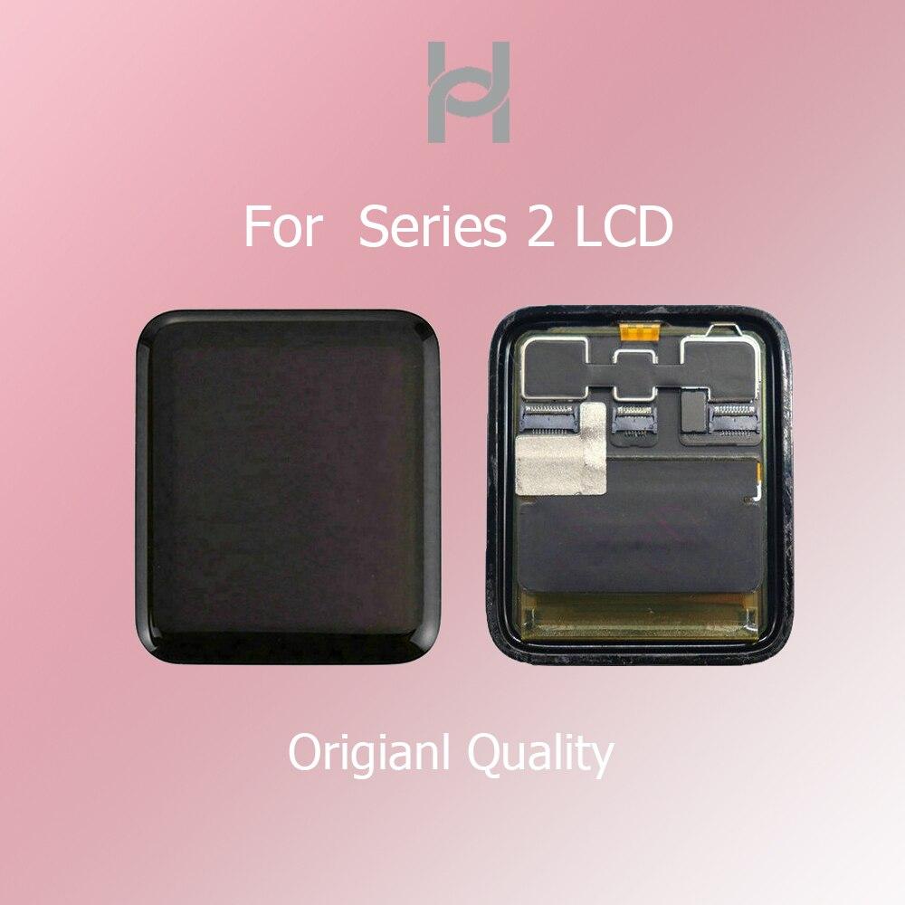 Écran LCD d'origine pour Apple Watch série 2 LCD écran tactile numériseur S2 38mm/42mm Sport/saphir fractila remplacement