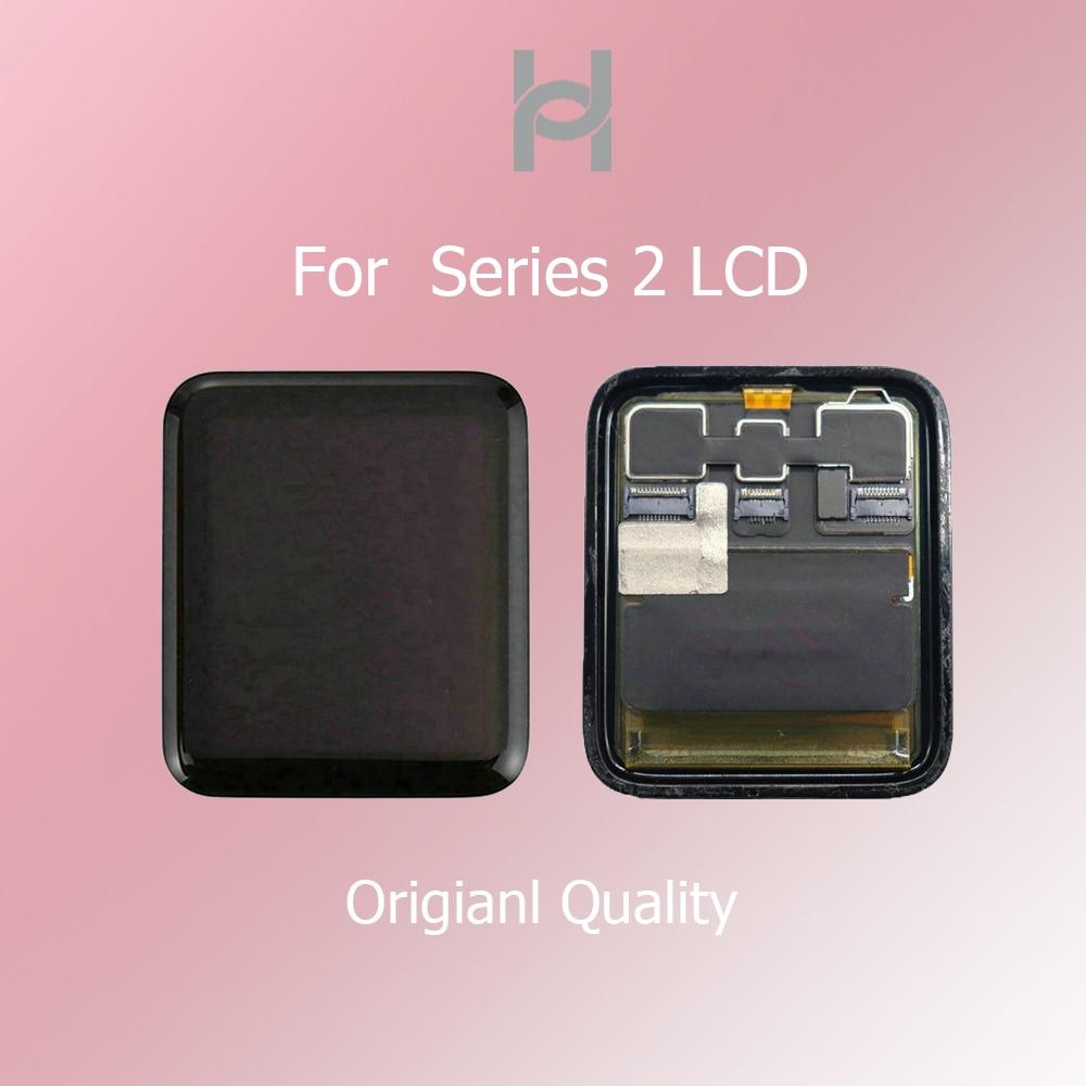 Écran lcd d'origine Pour Apple Montre Série 2 écran lcd numériseur à écran tactile S2 38mm/42mm Sport/Saphir Pantalla Remplacement