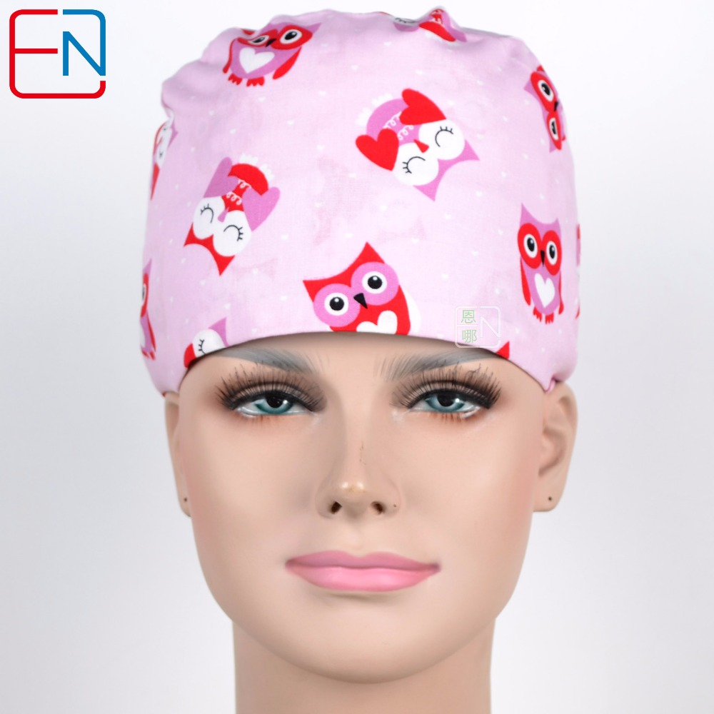 New 180313 Hennar Brand Unisex Surgical Caps Fenghong Maotou