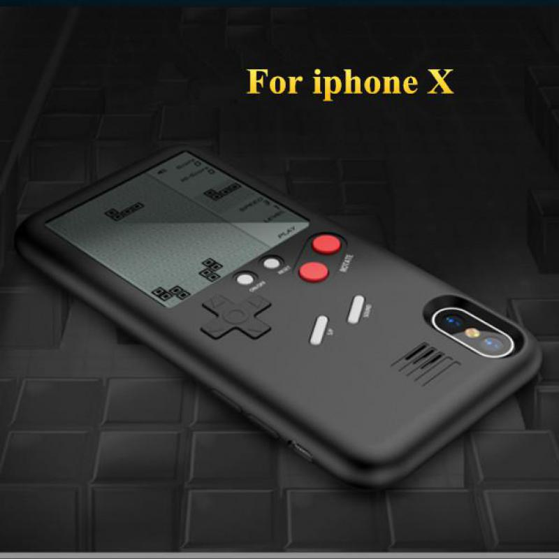Unique Multi Phone Cases For Iphone X  Cases Tpu Case Tetris Game Console Appearance Protection Cover Gift For Child