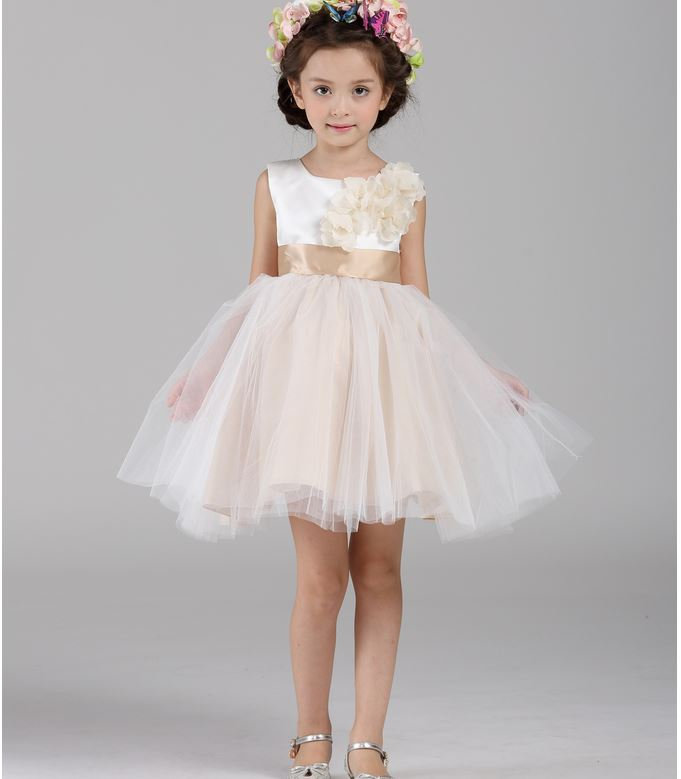 Wedding Dresses For Childrens In : Aliexpress buy new girl kids wedding dress high