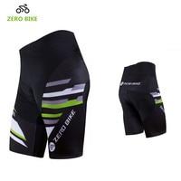 ZERO BIKE High Quality Men Summer Cycling Shorts Gel 3D Padded Quick Dry MTB Bicycle Short Pants