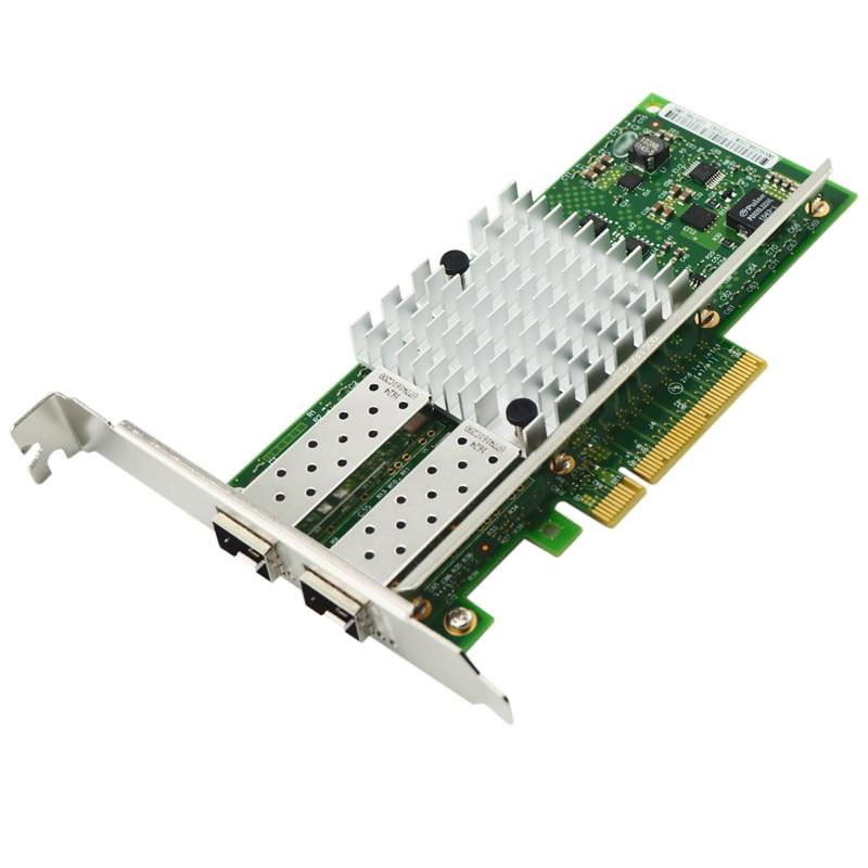 SFP+ Dual Ports 10-Gigabit Ethernet Server Adapter for X520-SR2 E10G42BFSR Free ShippingSFP+ Dual Ports 10-Gigabit Ethernet Server Adapter for X520-SR2 E10G42BFSR Free Shipping