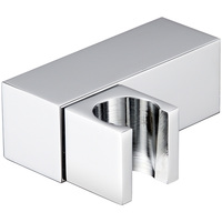 Chrome plated solid brass shower head holder wall mounted square bidet sprayer support 360 degree rotation Shower accessories