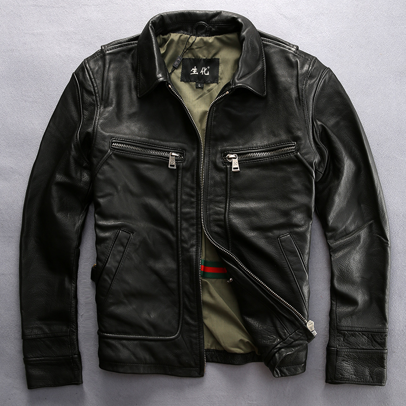 Popular Mens Vintage Leather Jackets-Buy Cheap Mens Vintage ...