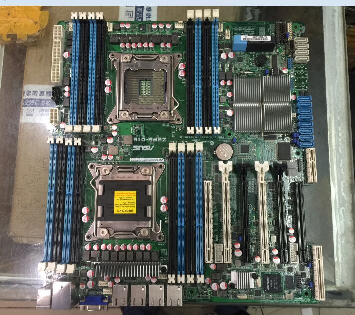 Z9PE-D16 материнская плата 2011 двойной сервер материнская плата секунд X79 E5 2760 80 90
