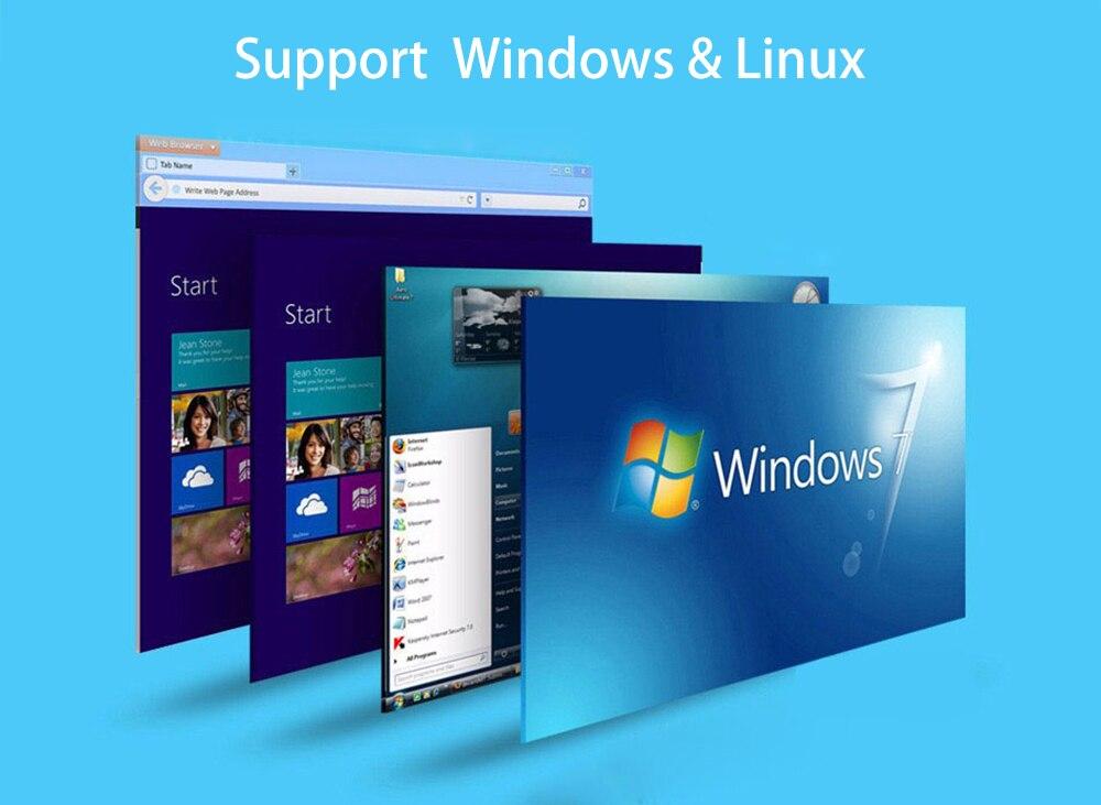 Компактный мини ПК Intel Core i3 4010Y i5 4200Y Windows 10 Linux HTPC HDMI 4* USB 300 Мбит/с WiFi Gigabit Ethernet неттоп
