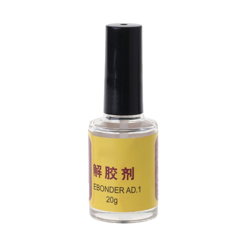 20g Glue Adhesive Superglue Remover Cleaner Debonder Bottle For UV Epoxy Resin-glue