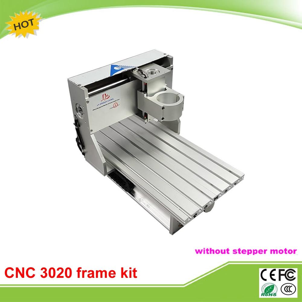 Meilleur qualité mini CNC cadre kit CNC tour 3020 taxe gratuite à la russie
