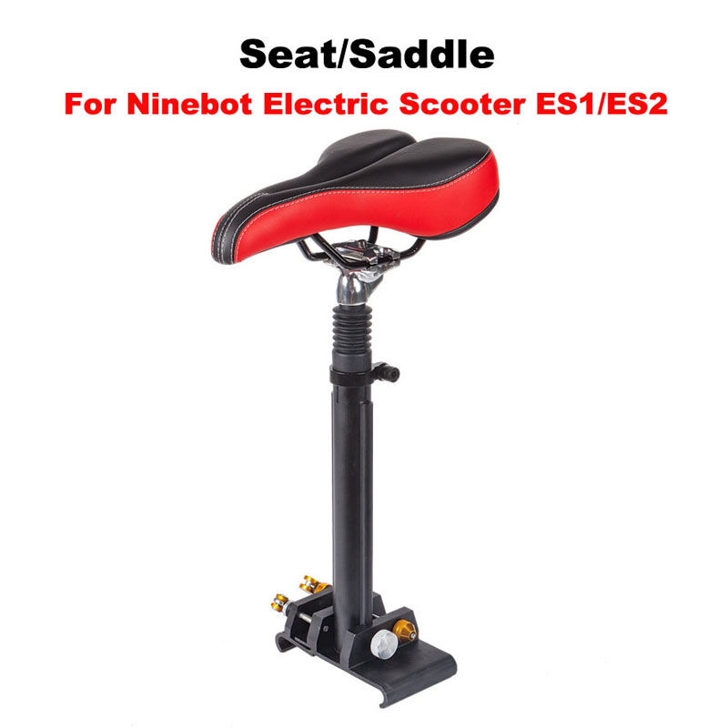 ES1/ES2 Electric Scooter Seat Saddle Xiaomi Mijia M365 Scooter Chair Electric Scooter Seat Height Adjustable Seat for ES1/ES2 m365 xiaomi electric scooter seat foldable saddle shock absorbing seat comfortable folding chair for xiaomi electric scooter diy