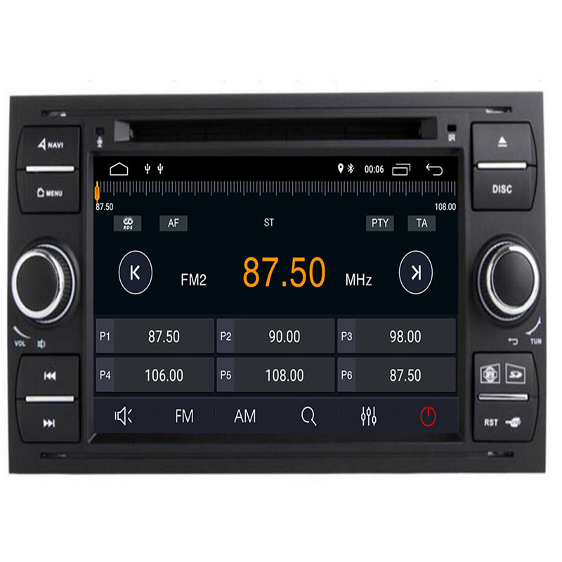 Car DVD Player Android9.0 DAB+2din In Dash For Ford Transit Focus Connect S MAX Kuga Mondeo With octa Core Wifi 4G GPS Bluetooth