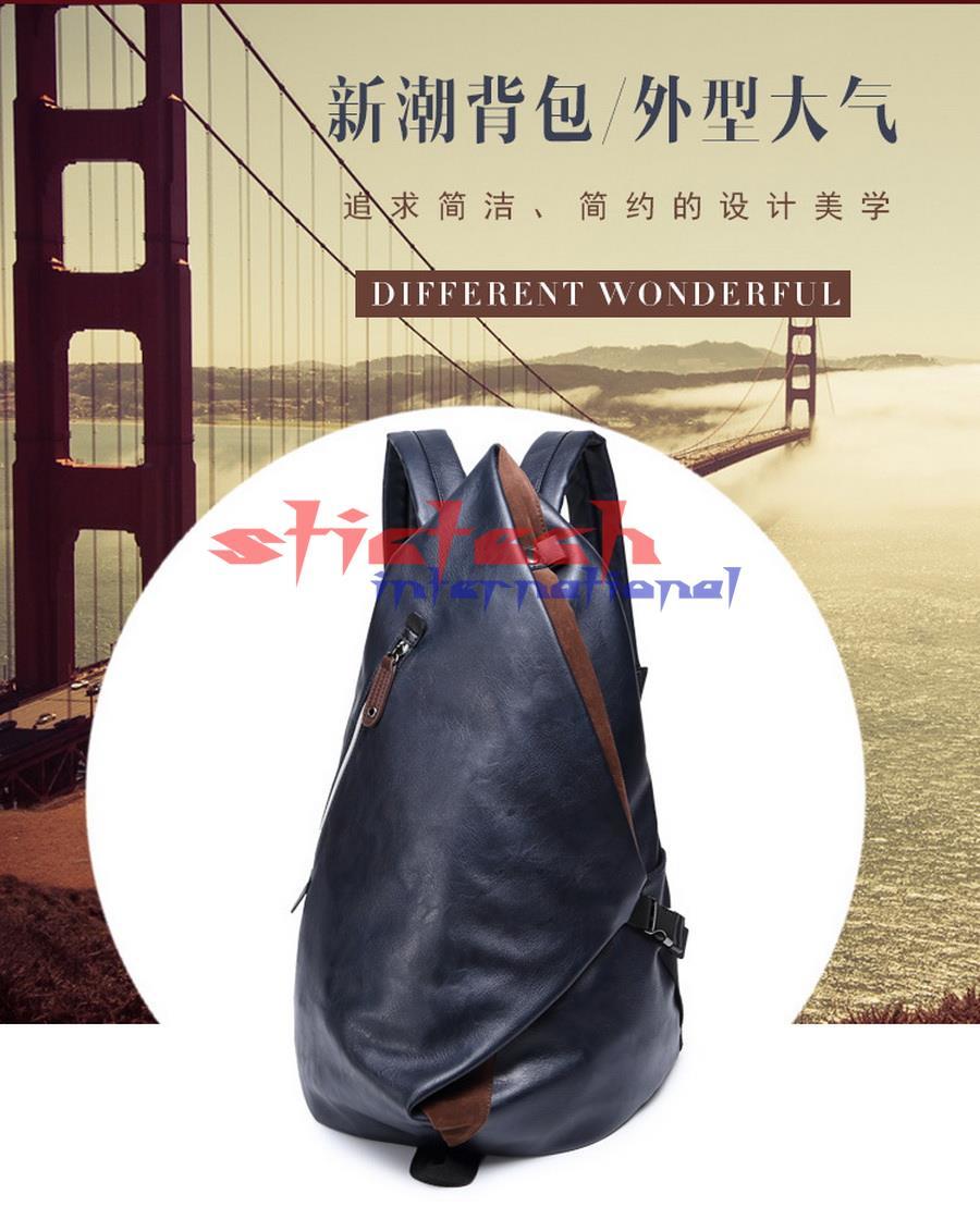 Mode Sacs École Homme bleu Pcs Dos 10 Ordinateur Hommes Portable Ou Par Étanche De Pu Noir À Pour Voyage Sac Cuir Mâle Dhl En Ems klPOuTZiwX