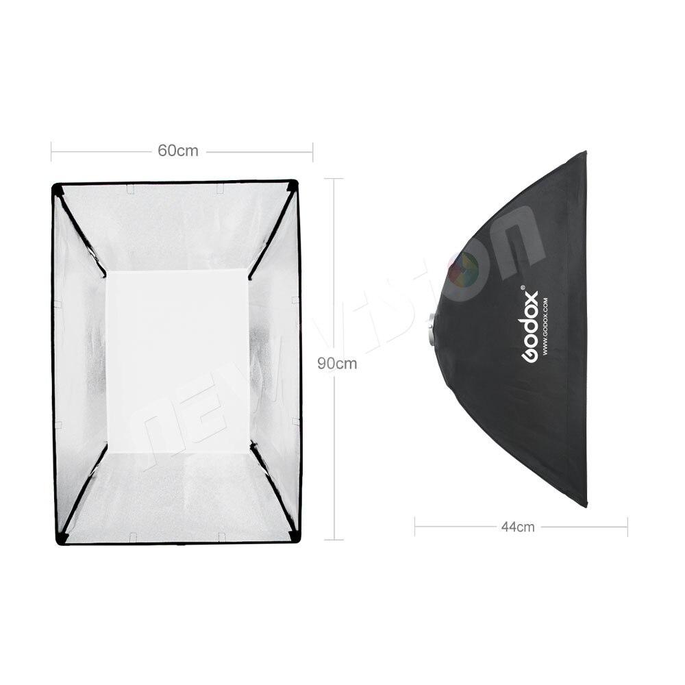 """Godox 24 """"× 35"""" 60 センチメートル * 90 センチメートルスピードライトスタジオストロボフラッシュフォト反射用 bowens マウント DE300 DE400 SK300  グループ上の 家電製品 からの ソフトボックス の中 3"""