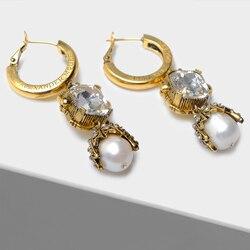 Fashion vintage drop earrings
