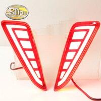 SNCN Multi Function LED Reflector Lamp Rear Fog Lamp Rear Bumper Light Brake Light For Toyota