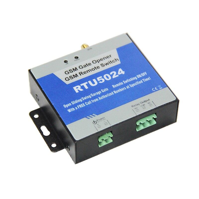 GSM Ouvreur de Porte Relais Commutateur de Contrôle D'accès À Distance Sans Fil Porte Ouvre Par Appel Gratuit Roi Pigeon RTU5024 - 4