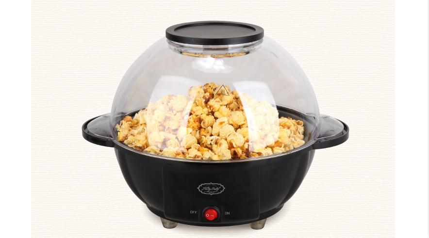 small commercial popcorn machine