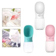 Pets Dogs 350ML Water Feeder Portable Travel Feeding Water Bottle Small Size Leakproof Outdoor Dog Pets Drinking Water Bottle