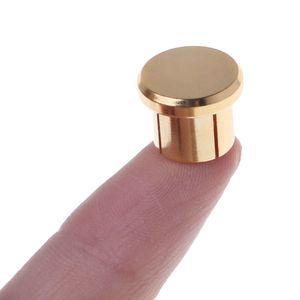 Image 2 - Enchufe para circuito corto chapado en oro, 10 Uds., conector fono RCA, conector de protección, tapas protectoras