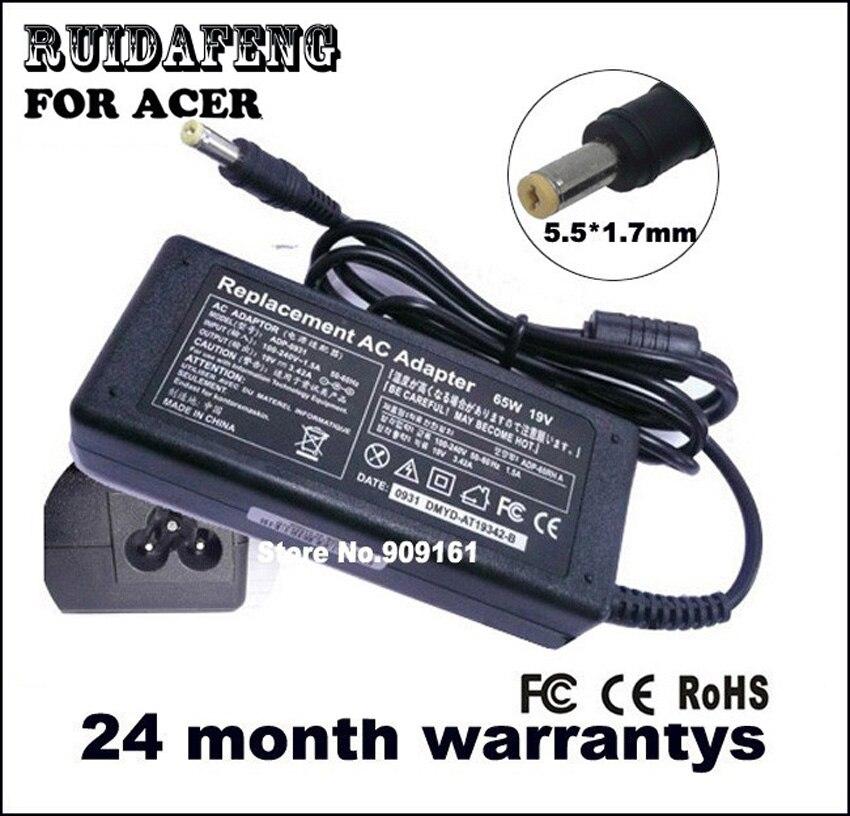 19 V 3.42A VOOR ACER ASPIRE 5332 5542 5732Z LAPTOP AC-ADAPTER OPLADER - Notebook accessoires