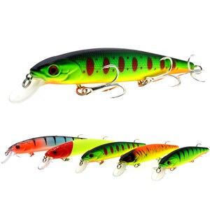 Image 1 - WLDSLURE Best Quality Fishing Wobbler 24g/140mm affondamento Minnow Pike Bass esche da pesca peche isca artificiale