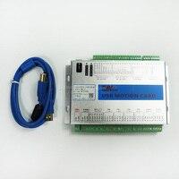 Support Windows 7 XHC MK4 CNC Mach3 USB 4 Axis Motion Control Card Breakout Board 400KHz