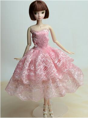 for Barbie doll clothes can be children clothing princess dress wedding dress skirt big Christmas gift