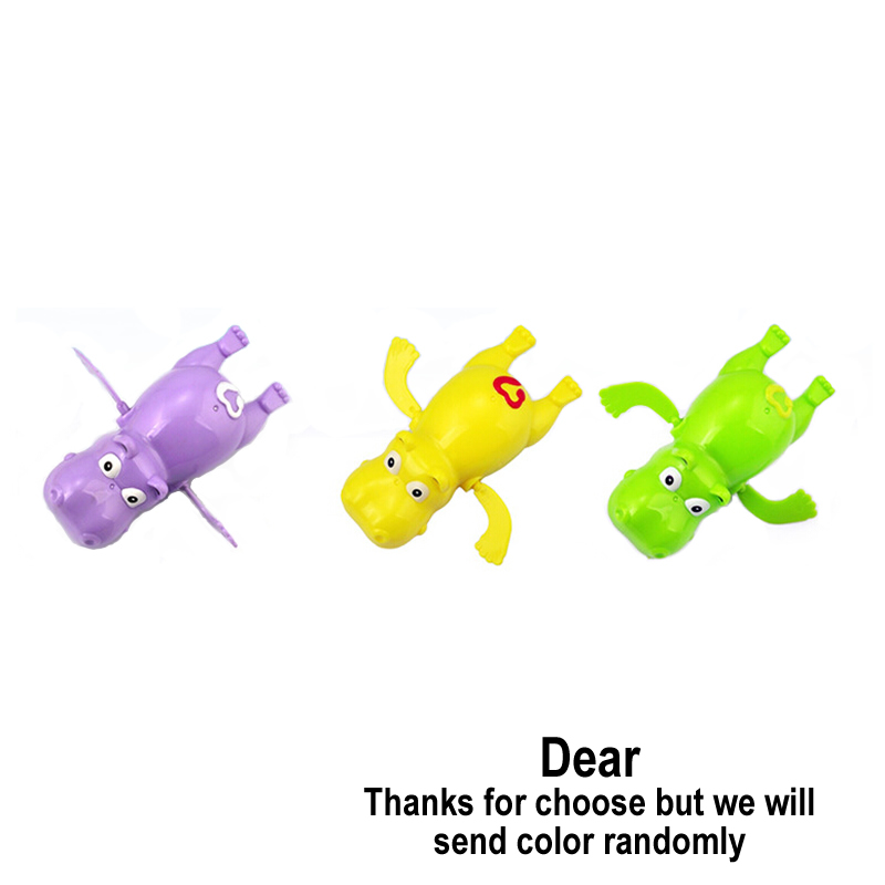 Hippo-Swim-Toys-Baby-Educational-Toys-Hippopotamus-Behemoth-Clockwork-Wind-Up-Plastic-Infant-Kids-Swimming-Toy-River-Horse-1PCS-2