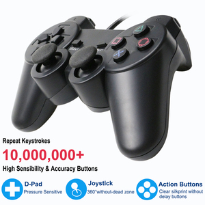 Image 2 - For PS2 Wired Controller Gamepad Manette For Playstation 2 Controle Mando Joystick For playstation 2 Console Accessory