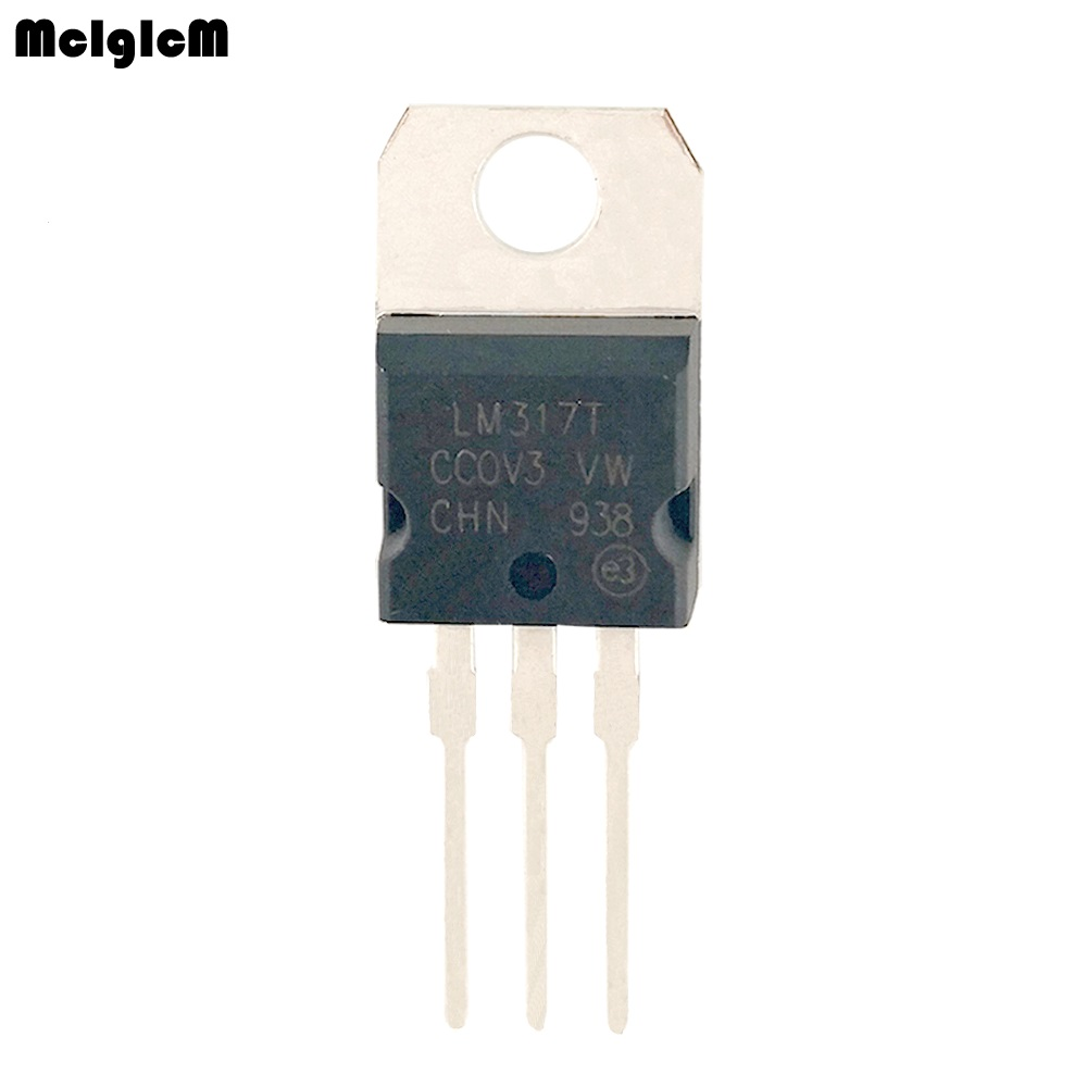 10PCS LM317T lm317 voltage regulator TO-22010PCS LM317T lm317 voltage regulator TO-220