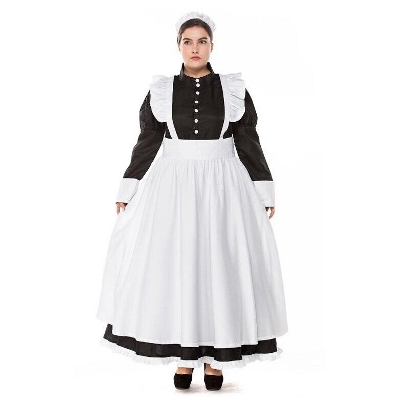 Nouveau Style Plus Taille Allemand Bière Domestique Costume Femmes Oktoberfest Dirndl Adulte Halloween Femmes Bière Domestique Robe
