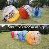 Free Shipping Inflatable Human Bubble Bumper Ball Bubble Soccer Football PVC 1.7m Material Inflatable Zorb Ball