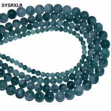 Wholesale Green Jade Stone Round Shape Natural Stone Beads For Jewelry Making DIY Bracelet Necklace 6MM 8MM 10MM 12MM Strand 16' цена 2017