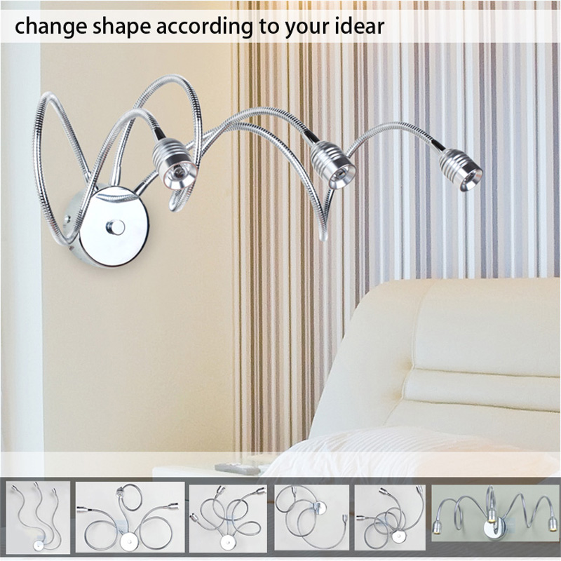 Spider Original New Transformable Wall Lamp Bedroom Wall Sconce Dining Room/Garage/Sunroom lights Wall Sconce combelle transformable 3089