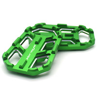 For Kawasaki Versys 650 X300 X1000 VERSYS 650 X 300 X 1000 Motorcycle Billet Footrest Wide Pedals Pedal Rest Footpegs