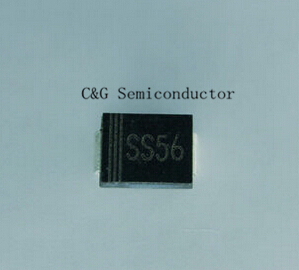 20pcs SS56 SR560 SMB Размер DO-214AA smd диод Шоттки SK56