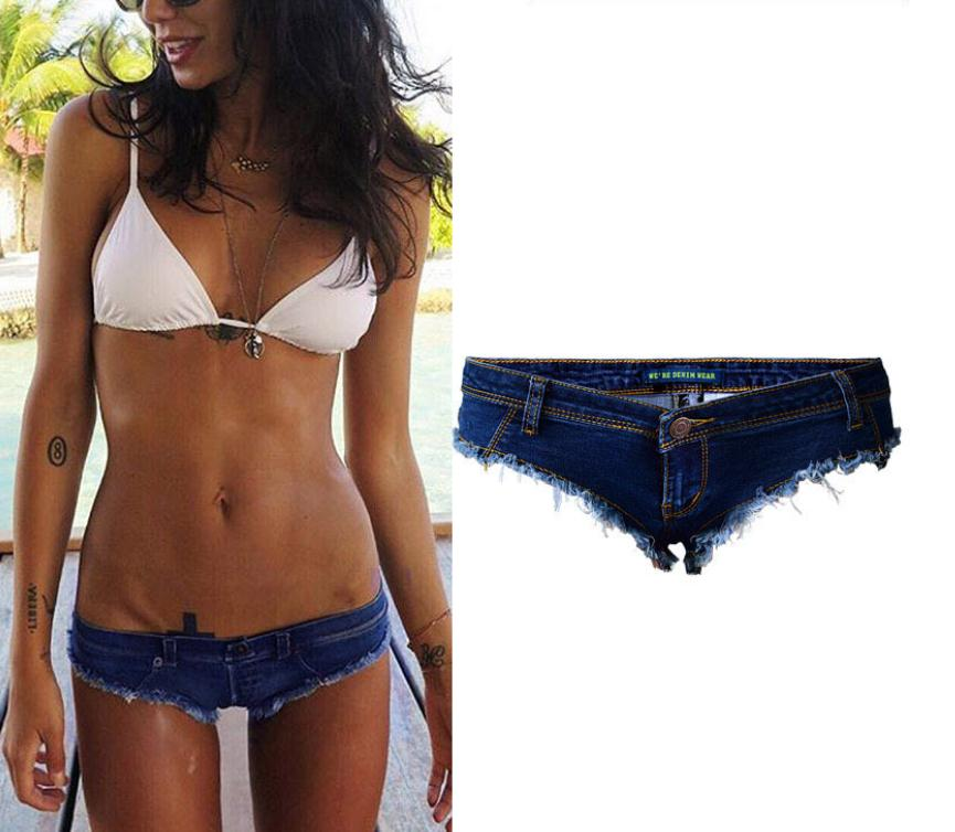 Mini Shorts Low-Waist Sexy Stretchy Womens Super Club Pu for Female J2745 New-Arrival