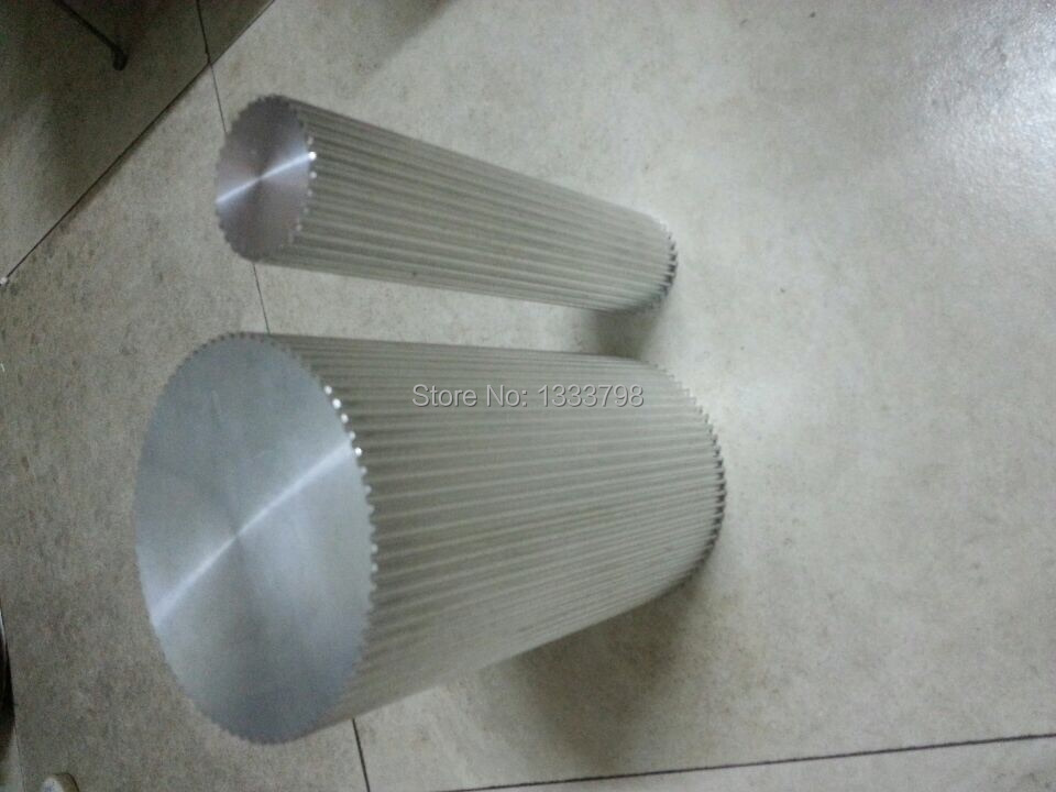 Personalisierte größe 48 zähne T20 aluminium timing bar lager, riemenscheibe, 200mm länge