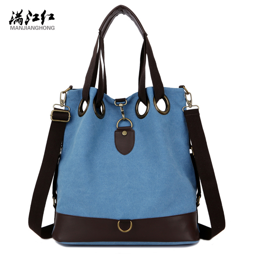 Fashion Canvas Solid Casual Big Capacity Classic Women Shoulder Bags Vogue Hipster Cross-body Youth Girls Commuter Tote squirrel fashion nylon solid casual waterproof classic women shoulder bags vogue hipster cross body youth girls commuter tote