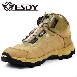 Для мужчин зимние тактические ботильоны модные черные кружево до пустыня сапоги и ботинки для девочек армейские ботинки