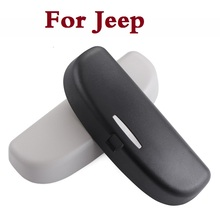 Auto glasses case Car Eyeglasses Protect Case accessories For Jeep Liberty Renegade Wrangler Commander