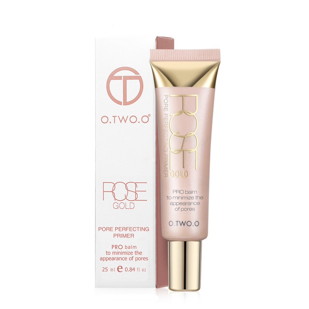 O.TWO.O Hot Primer Make Up Base Foundation Primer krema za ličenje vlažilno pore Pozorno kozmetiko za obraz