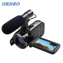ORDRO HDV-Z20 Camcorder Video Recording HD 1080P with Wifi External Microphone Input Jack Hot Shoe HDMI Output (HDV-Z20)